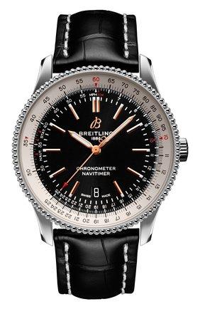 Мужские часы navitimer automatic 41 BREITLING черного цвета, арт. A17326211B1P1 | Фото 1