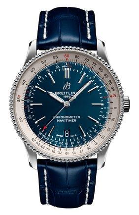 Мужские часы navitimer 1 automatic 41 BREITLING синего цвета, арт. A17326211C1P4 | Фото 1