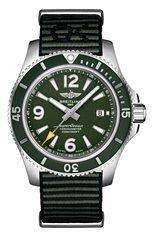 Мужские часы superocean ii automatic BREITLING бесцветного цвета, арт. A17367A11L1W1 | Фото 1