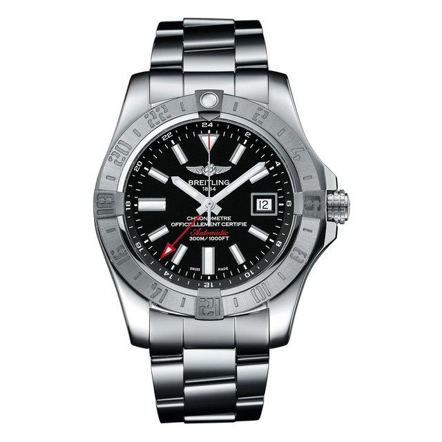 Часы GMT Steel Black Breitling.