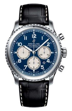 Мужские часы navitimer 8 b01 BREITLING синего цвета, арт. AB0117131C1P1 | Фото 1