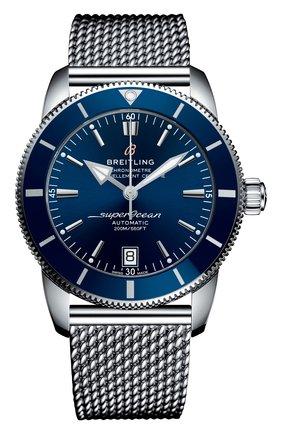 Мужские часы superocean heritage ii BREITLING синего цвета, арт. AB2010161C1A1 | Фото 1