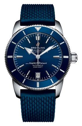 Мужские часы superocean heritage ii BREITLING синего цвета, арт. AB2010161C1S1 | Фото 1