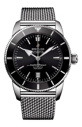 Мужские часы superocean heritage ii BREITLING черного цвета, арт. AB2020121B1A1 | Фото 1