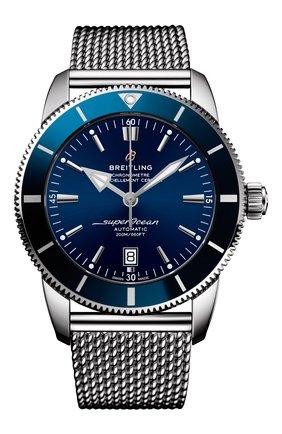 Мужские часы superocean heritage ii BREITLING синего цвета, арт. AB2020161C1A1 | Фото 1