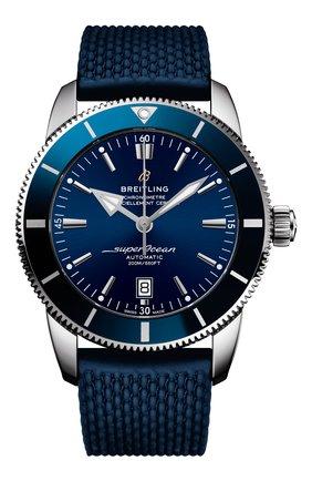 Мужские часы superocean heritage ii BREITLING синего цвета, арт. AB2020161C1S1 | Фото 1
