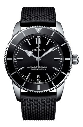 Мужские часы superocean heritage ii b20 automatic BREITLING черного цвета, арт. AB2030121B1S1   Фото 1