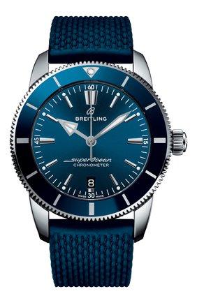 Мужские часы superocean heritage ii b20 automatic BREITLING синего цвета, арт. AB2030161C1S1 | Фото 1