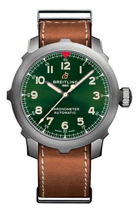 Мужские часы aviator 8 super 8 b20 BREITLING бесцветного цвета, арт. EB2040101L1X1 | Фото 1