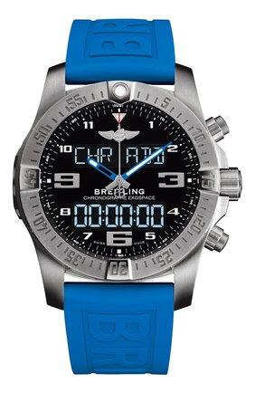 Мужские часы exospace b55 BREITLING черного цвета, арт. EB5510H21B1S1 | Фото 1