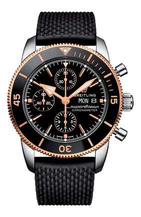 Мужские часы chronograph 44 BREITLING черного цвета, арт. U13313121B1S1 | Фото 1