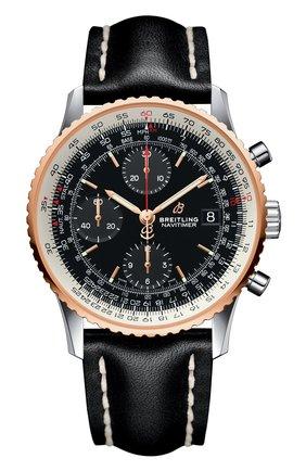 Мужские часы chronograph 41 BREITLING черного цвета, арт. U13324211B1X1 | Фото 1