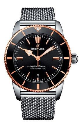 Мужские часы superocean heritage ii b20 BREITLING черного цвета, арт. UB2030121B1A1 | Фото 1