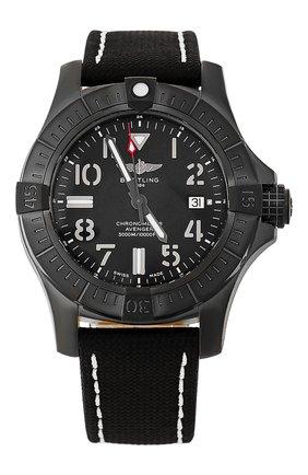 Мужские часы avenger automatic 45 seawolf night mission BREITLING черного цвета, арт. V17319101B1X1 | Фото 1