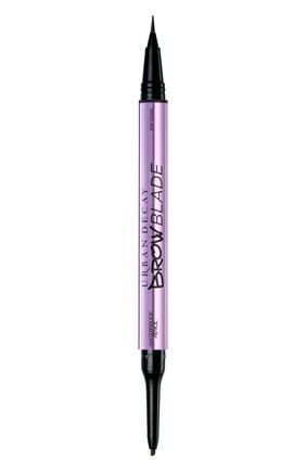 Женский маркер для бровей brow blade, оттенок dark drapes URBAN DECAY бесцветного цвета, арт. 3605972008213 | Фото 1