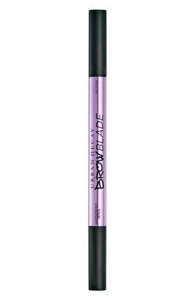 Женский маркер для бровей brow blade, оттенок dark drapes URBAN DECAY бесцветного цвета, арт. 3605972008213 | Фото 2