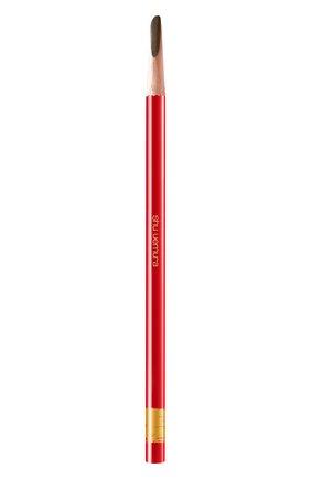 Женский карандаш для бровей hard formula, seal brown SHU UEMURA бесцветного цвета, арт. 4935421721974 | Фото 1