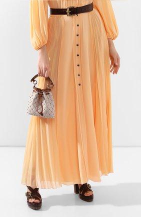 Женская сумка valentino garavani spike.it VALENTINO коричневого цвета, арт. TW2B0B59/BWH | Фото 2