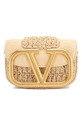 Женская сумка valentino garavani supervee VALENTINO бежевого цвета, арт. TW0B0G45/LAX | Фото 1