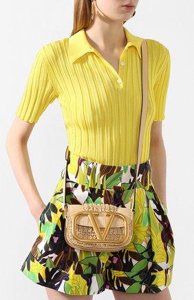 Женская сумка valentino garavani supervee VALENTINO бежевого цвета, арт. TW0B0G45/LAX | Фото 2