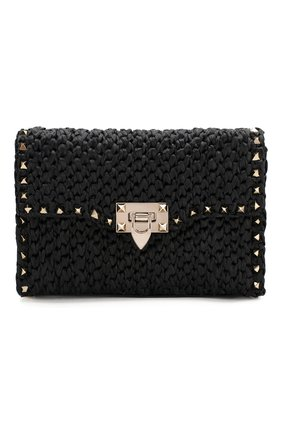 Женская сумка valentino garavani rockstud VALENTINO черного цвета, арт. TW0B0181/HSQ | Фото 1