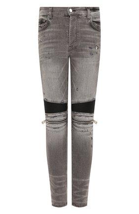 Мужские джинсы AMIRI серого цвета, арт. Y0M01185SD | Фото 1
