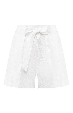 Женские хлопковые шорты ST. JOHN белого цвета, арт. K80ZW02 | Фото 1