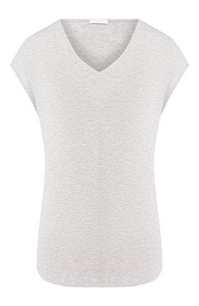 Женская футболка MEY серого цвета, арт. 16005 | Фото 1