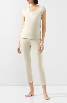 Женские брюки MEY светло-зеленого цвета, арт. 16210 | Фото 2