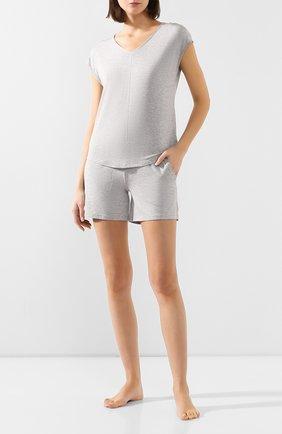 Женские шорты MEY серого цвета, арт. 16018 | Фото 2