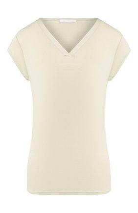 Женская футболка MEY светло-зеленого цвета, арт. 16305 | Фото 1