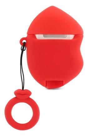 Мужской чехол для airpods BENJAMINS красного цвета, арт. BJAP-SILIPS | Фото 2