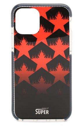 Мужской чехол для iphone 11 pro BENJAMINS разноцветного цвета, арт. V0S1958-STARR | Фото 1