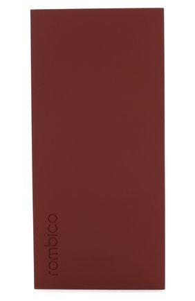 Мужского портативный аккумулятор neo aria ROMBICA бордового цвета, арт. PB1Q01 | Фото 1