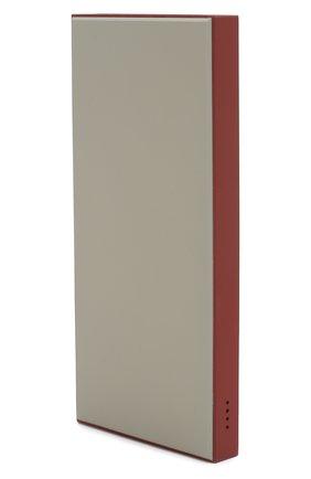Мужского портативный аккумулятор neo aria ROMBICA бордового цвета, арт. PB1Q01 | Фото 2