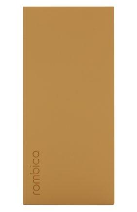 Мужского портативный аккумулятор neo aria ROMBICA желтого цвета, арт. PB1Q02 | Фото 1