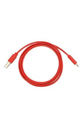 Мужской кабель usb/lightning, 1m ROMBICA красного цвета, арт. CB-MR01R | Фото 1