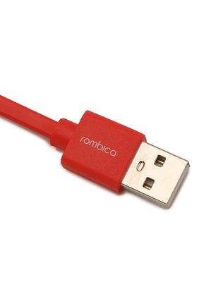 Мужской кабель usb/lightning, 1m ROMBICA красного цвета, арт. CB-MR01R | Фото 2