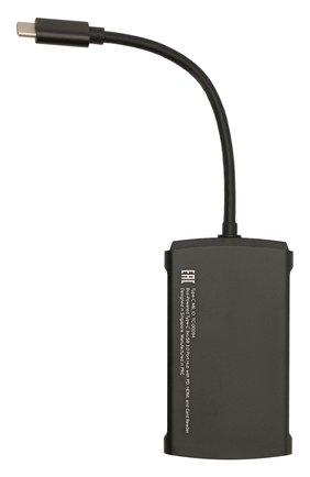 Мужской usb-хаб type-c m6 ROMBICA черного цвета, арт. TC-00094 | Фото 2
