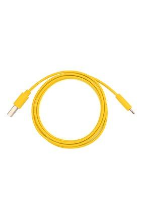 Мужской кабель usb/lightning, 1m ROMBICA желтого цвета, арт. CB-MR01Y | Фото 1