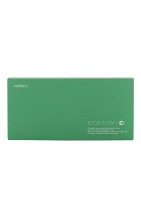 Мужского портативный аккумулятор neo ns100g 10000mah ROMBICA зеленого цвета, арт. NS-00100G | Фото 1