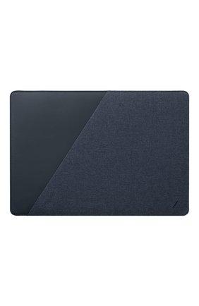 "Чехол stow для macbook air/macbook pro 13"" NATIVE UNION синего цвета, арт. STOW-MBS-IND-FB-13 | Фото 1"