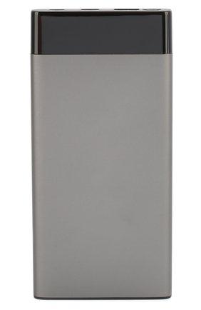Мужского портативный аккумулятор neo ts100 quick ROMBICA серого цвета, арт. NTS-1001 | Фото 1