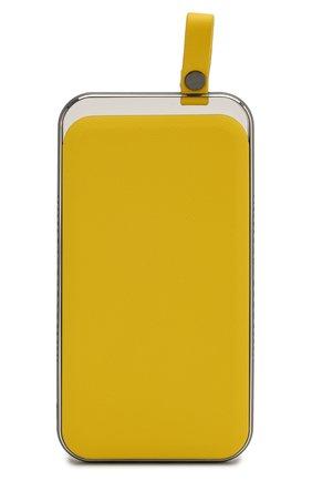 Мужского портативный аккумулятор neo electron ROMBICA желтого цвета, арт. PB5Q05 | Фото 1