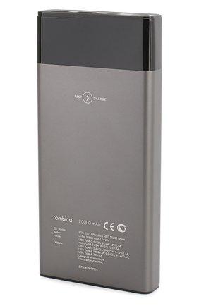 Мужского портативный аккумулятор neo ts200 quick ROMBICA серого цвета, арт. NTS-2001 | Фото 2