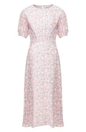 Женское платье из вискозы FAITHFULL THE BRAND розового цвета, арт. FF1503   Фото 1