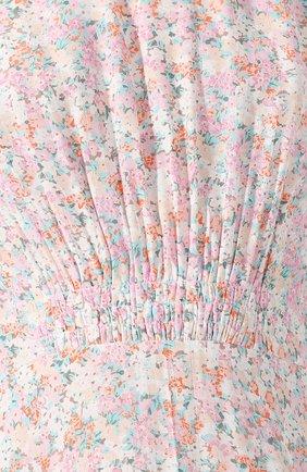 Женское платье из вискозы FAITHFULL THE BRAND розового цвета, арт. FF1503   Фото 5