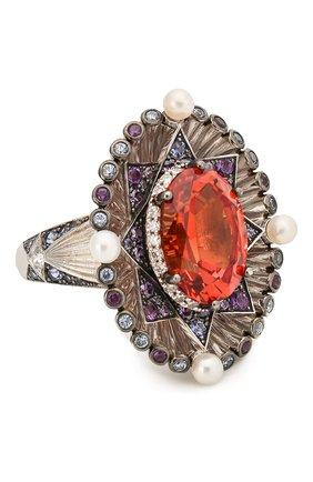 Женское кольцо QUEENSBEE разноцветного цвета, арт. 101385/15,96   Фото 1