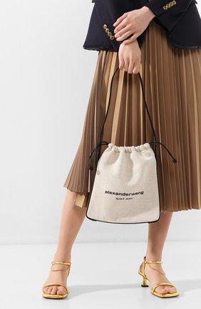 Женская сумка ryan ALEXANDER WANG бежевого цвета, арт. 20C120R191 | Фото 2