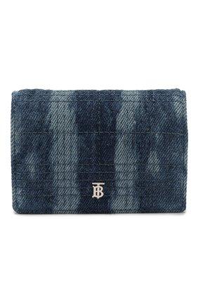 Женские кошелек на цепочке jessie BURBERRY синего цвета, арт. 8026993 | Фото 1